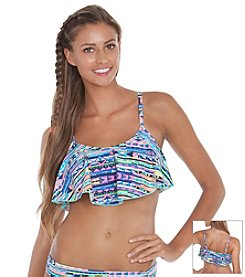 Gossip® Stripe Muse Novelty Bra Swim Top