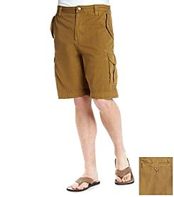 Ruff Hewn Heritage Men's Garment Dye Cargo Shorts