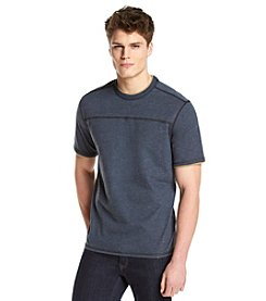 Bass® Men's Short Sleeve Sueded Jersey Crew