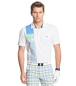 Izod® Men's Short Sleeve Retro Printed Polo