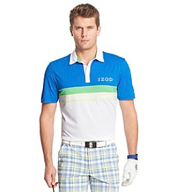 Izod® Men's Short Sleeve Pieced Pique Prep Polo