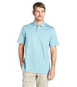 Van Heusen® Men's Short Sleeve Windowpane Printed Polo