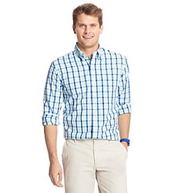 Izod® Men's Big & Tall Long Sleeve Medium Plaid Woven
