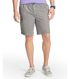 Izod® Men's Elastic Waistband Cargo Shorts