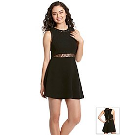 BCBGeneration™ Lace Insert Dress