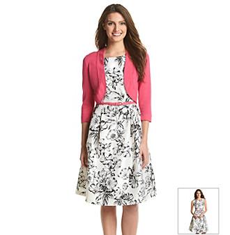 Upc 689886925746 Jessica Howard Sweater Shrug Floral Dress