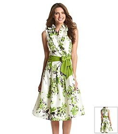 Jessica Howard® Floral Ruffle Dress