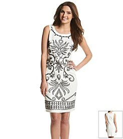 Ronni Nicole® Caviar Bead Shift Dress