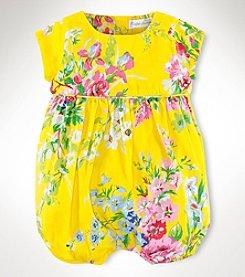 Ralph Lauren Childrenswear Baby Girls' Satin Shortall