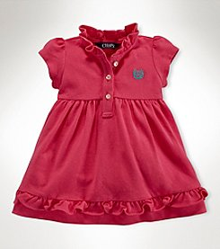 Chaps® Baby Girls' Ruffle Collar Dress