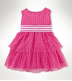 Chaps® Baby Girls' Dot Tulle Dress