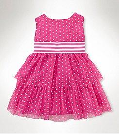 Chaps® Baby Girls' Dot Tulle Dress