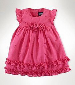 Chaps® Baby Girls' Eyelet Dress