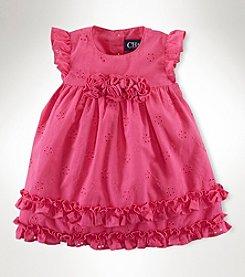 Chaps® Baby Girls' Eyelet Dress