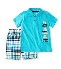 Kids Headquarters® Baby Boys' 2-Piece Sail Away With Me Outfit Set