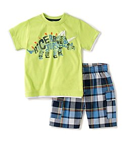 Kids Headquarters® Baby Boys' 2-Piece Dino Shorts Set