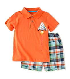 Kids Headquarters® Baby Boys' 2-Piece Rocket Shorts Set