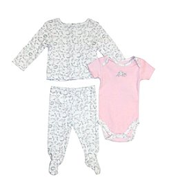 Vitamins Baby® Baby Girls' 3-Piece Birdie Take Me Home Set