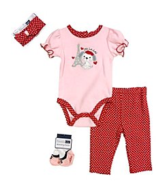 Vitamins Baby® Baby Girls' 4-Piece Puppy Take Me Home Set
