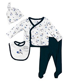 Vitamins Baby® Baby Boys' 4-Piece Sports Take Me Home Set