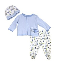 Vitamins Baby® Baby Boys' 3-Piece Animals Take Me Home Set