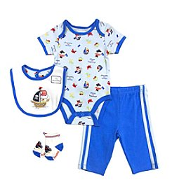 Vitamins Baby® Baby Boys' 4-Piece Pirate Take Me Home Set