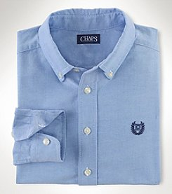 Chaps® Boys' 8-20 Long Sleeve Oxford Top
