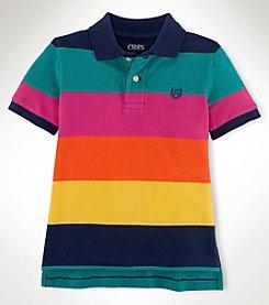 Chaps® Boys' 2T-7 Short Sleeve Lifesaver Polo Top