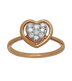 0.25 ct. t.w. Diamond Ring in 10K Rose Gold