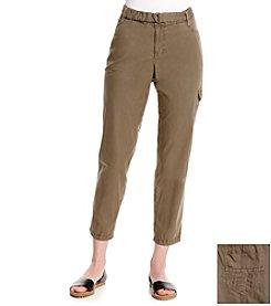 DKNY JEANS® Belted Poplin Cargo Pants