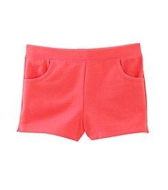 Little Miss Attitude® Girls' 2T-6X Knit Shorts