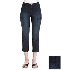 Ruff Hewn Denim Slim Uitlity Crop Pants