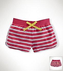 Ralph Lauren Childrenswear Girls' 2T-16 Striped Shorts