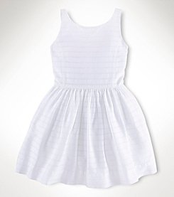 Ralph Lauren Childrenswear Girls' 2T-16 Dobby Dress