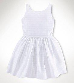Ralph Lauren Childrenswear Girls' 2T-16 Dobby Dress