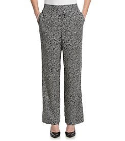 Alfred Dunner® Morocco Geometric Print Pull On Pants