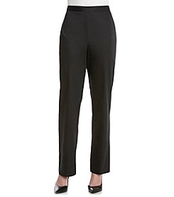 Alfred Dunner® Solid Pull On Pants