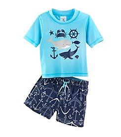 Carter's® Baby Boys' 2-Piece Ocean Friends Outfit Set