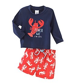 Carter's® Baby Boys' 2-Piece Lobster Swim Set