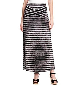Oneworld® Stripe Maxi Skirt