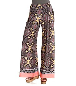 Oneworld® Printed Pull-On Pants