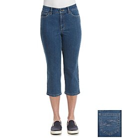 Laura Ashley® Mulberry Denim Crop
