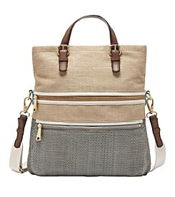 Fossil® Explorer Straw Tote