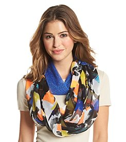 pp and Cejon® Different Stroke Half and Half Infinity Scarf