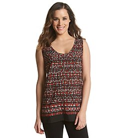 Anne Klein® Basketweave Top