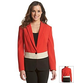 Anne Klein® Color Block Blazer