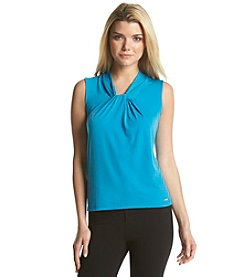 Calvin Klein Knot Front Solid Cami