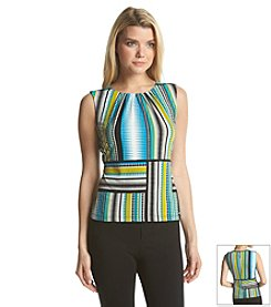Calvin Klein Abstract Pleatneck Cami