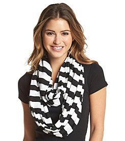 Collection 18 Striped Jersey Loop Scarf