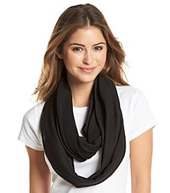 Collection 18 Sport Mesh Solid Loop Scarf